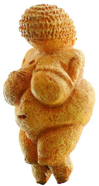 Willendorfská venuše. Zdroj wikimedia.commons.org