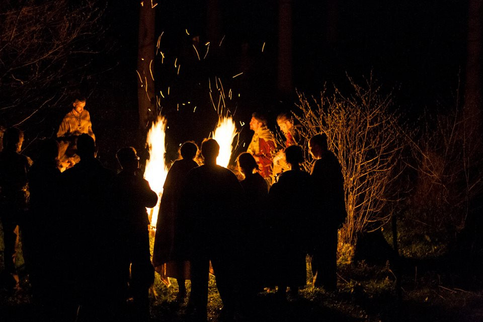 Oslavy Mabonu pod Kamennou horou. Foto R. Vaňous