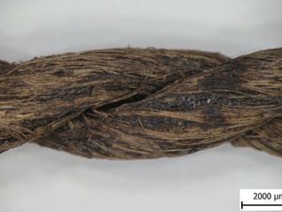 Jak zachránit 7 000 let starý provázek z neolitické studny // How to save a 7,000-year-old string fr