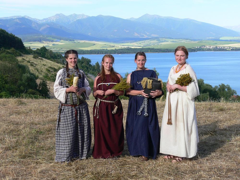 Keltské ženy. Foto J. Lohnická