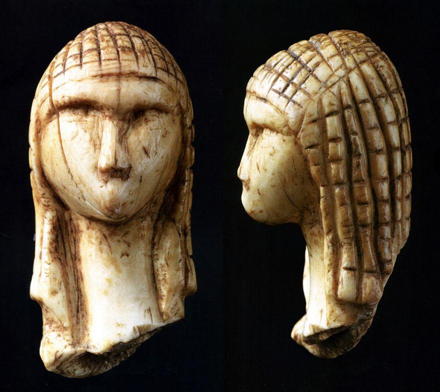 Venuše z Brassempouy. Zdroj wikimedia.commons.org