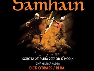 Oslavy Samhainu na zámku Nižbor připomenou duchovní svět Keltů