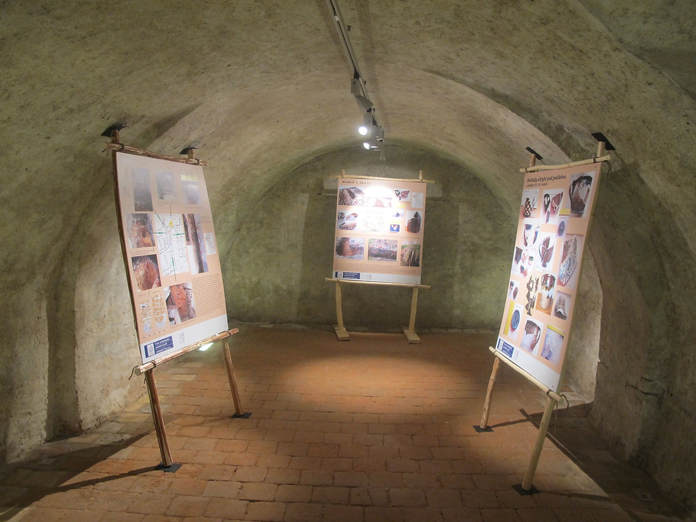 Část výstavy v prostorách zámku v Bělé pod Bezdězem. Foto J. Švédová