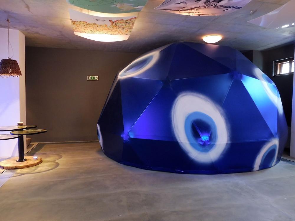 Tzv. ZÁVIST CAVE umístěná v pomyslném keltském korálku. Foto V. Mikešová