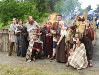 Markomanského bojovníka Sigiswerta pohltily plameny na Pičhoře