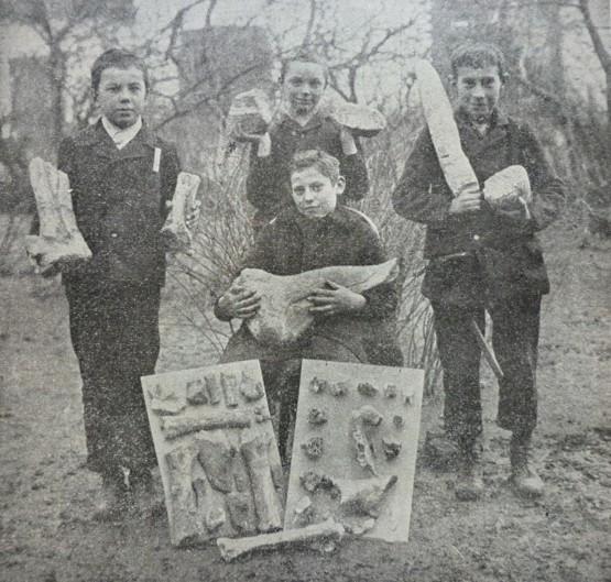 Štorchovi libeňští žáci. Zdroj archiv dr. Sklenáře