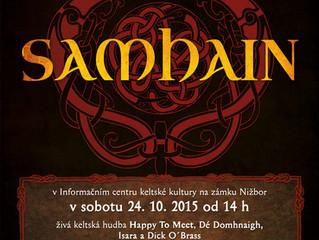 Oslavte s námi letošní Samhain na zámku v Nižboře!