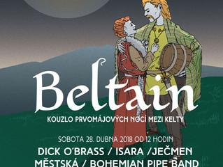 Poznejte kouzlo prvomájových nocí spolu s Kelty na Beltainu