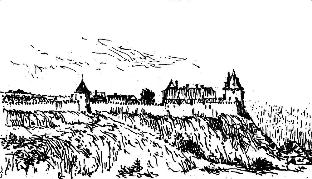 Hypotetická podoba tvrze v 16. století