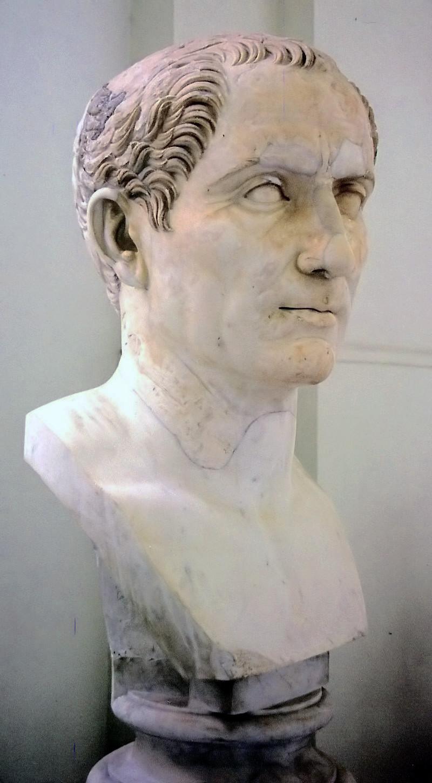 Gaius Iulius Caesar. Zdroj viz Historyweb.sk