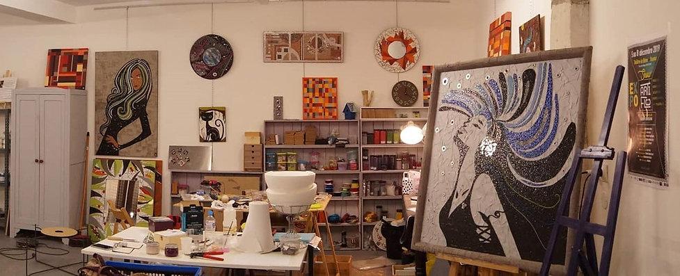 atelier créatif mosaique stage cours
