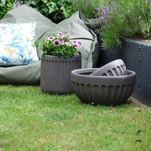 Set of 2 Fibre-Clay Bowls