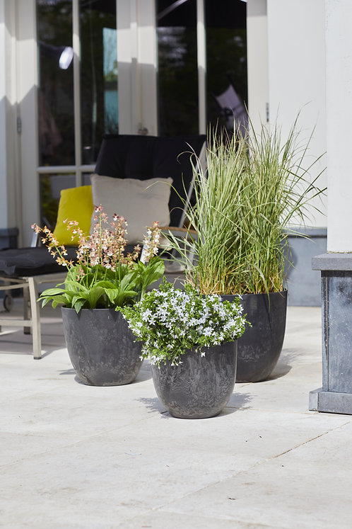 Outdoor Artstone Pot Bola