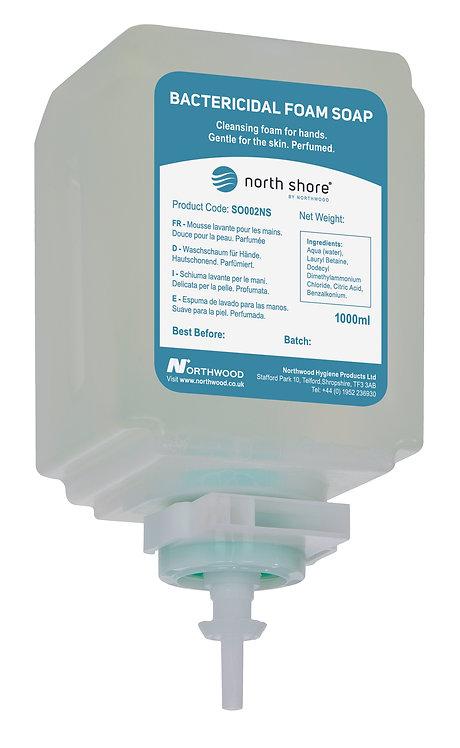 ANTI-BAC FOAM SOAP SYSTEM CARTRIDGE - ODOURLESS. CASE of 6