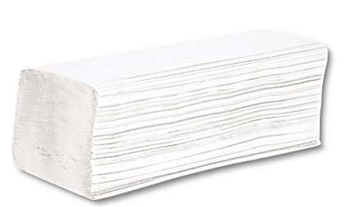 NW HAND TOWELS Z-FOLD SOFT 2 PLY WHITE - CASE/3000