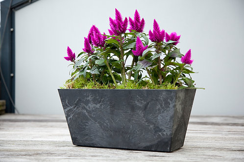 Outdoor Artstone Trough Ella