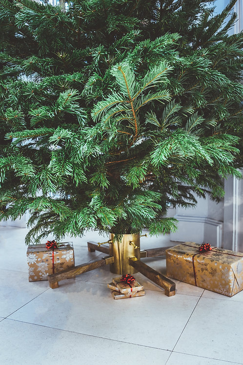 Christmas Tree Stand Gold, 2 Colours