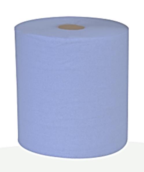 C-FEED WIPING ROLLS 2 PLY BLUE - 150mtr. CASE/6 ROLLS