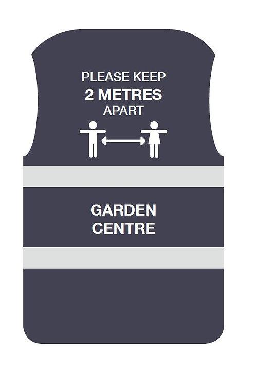 Garden Centre Social Distancing Hi-Vis Vest