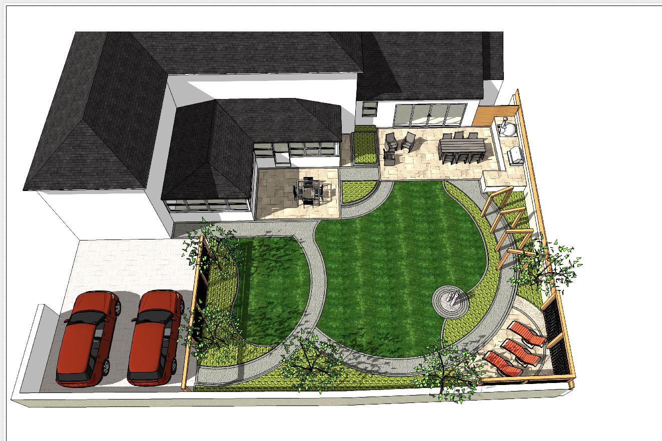 7, Landscape designer Wakefield, Concept plan-1-over view