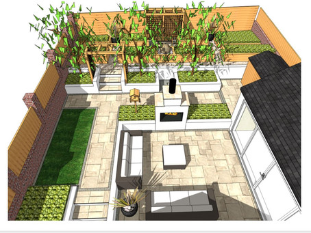 Garden design, Hemsworth.