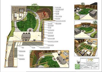 Garden design Amended Plan, Wakefield