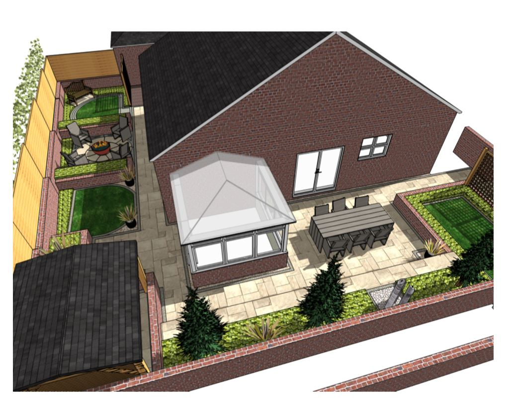 Overview, concept plan-2, Castelford