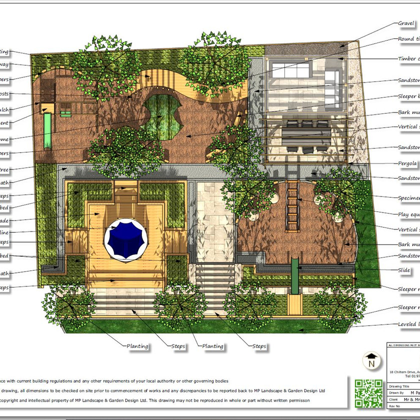 1, Childrens play garden, concept plan-1, Pontefract