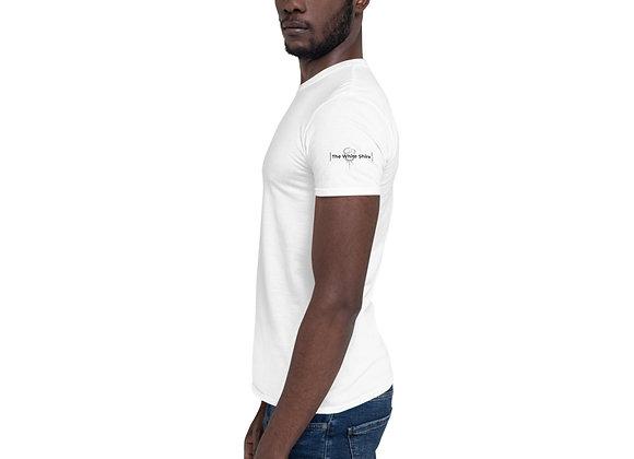 Short-Sleeve Unisex T-Shirt, Logo on both arms