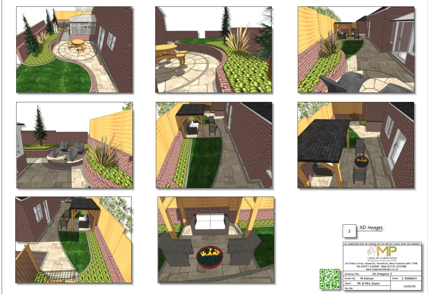 6. Colour concept 3D images for a property in Castelford.