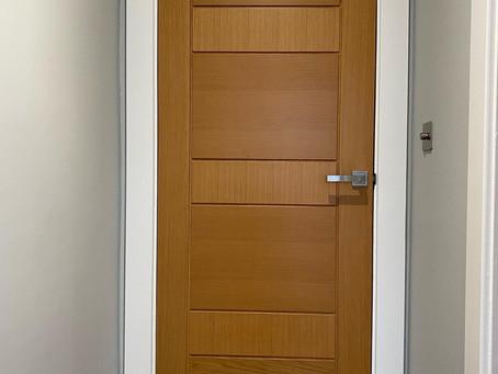 Oak veneer doors, Alwoodley, Leeds