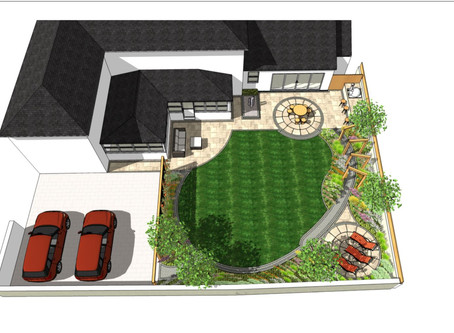 Garden design in Campsell, Doncaster