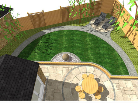 Garden design, South Kirkby