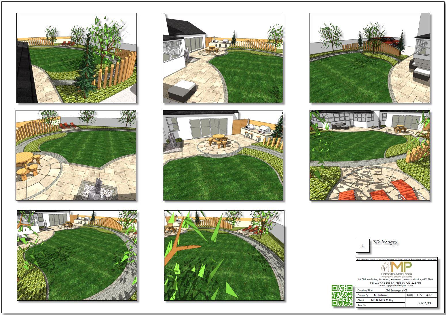 6, Landscape designer Wakefield, Concept plan-2