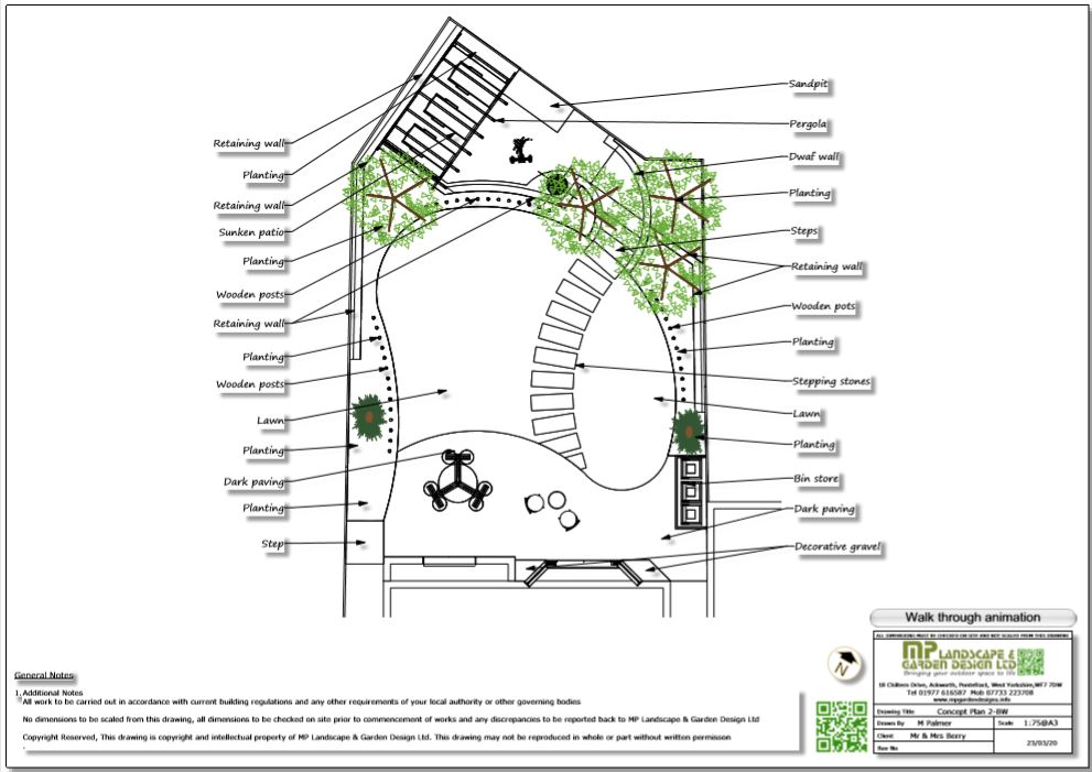7, Concept plan-2 for a new build property in Wakefield