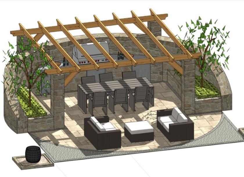 4, Patio design-2 for property