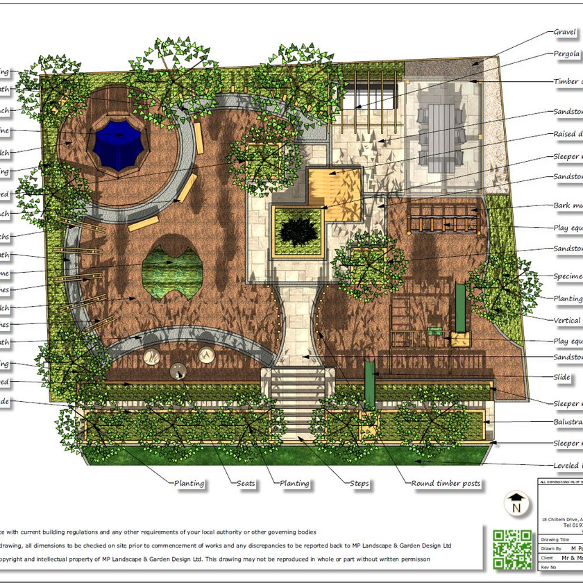 4, Childrens play garden, concept plan-2, Pontefract