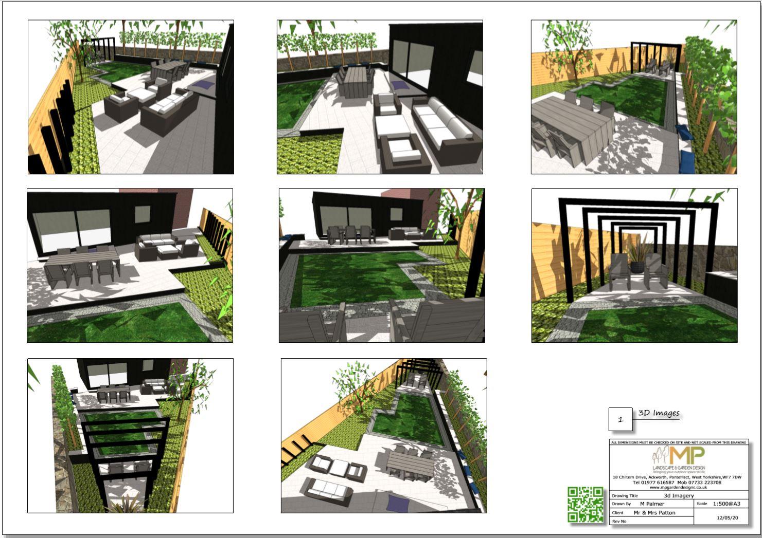 4, Colour 3D images, concept plan-1, Stanley, Wakefield