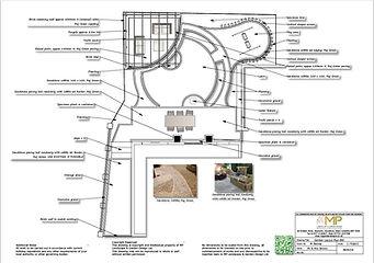 Garden design, Garden Layout Plan-BW, Wakefield