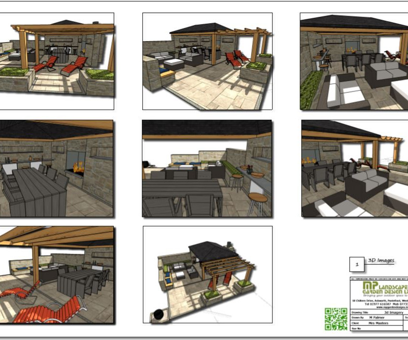 3, Concept plan 1, 3D images for property in Barnsley