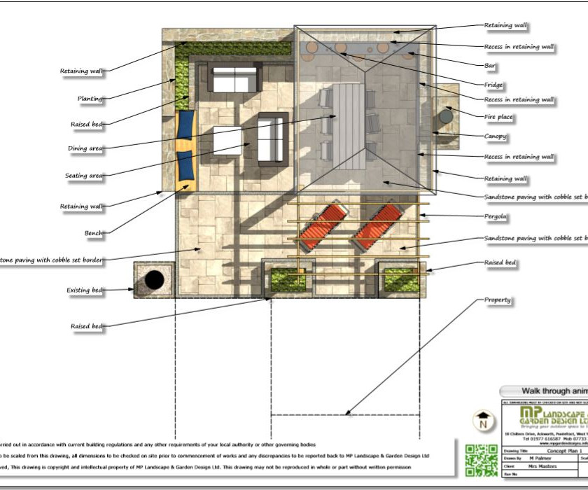 2, Concept plan 1 for property