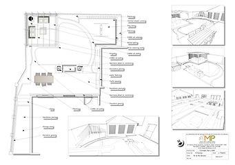 Garden design Concept plan-2-BW, Wakefield
