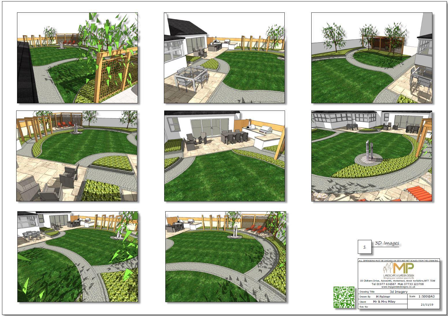 3, Landscape designer Wakefield, Concept plan-1