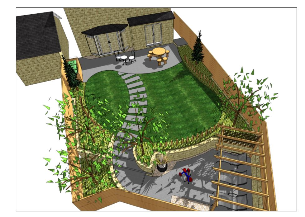 5,Garden designer Wakefield