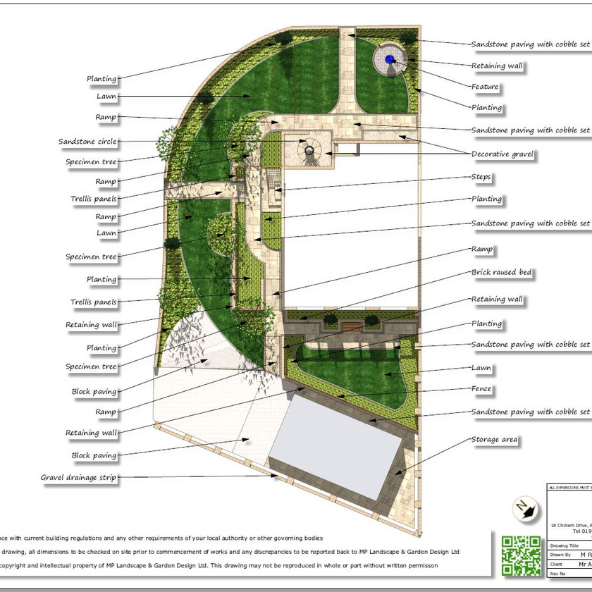 4, Concept plan-2 for a property in Featherstone.