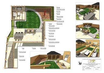 Garden design Concept Plan-2, Wakefield