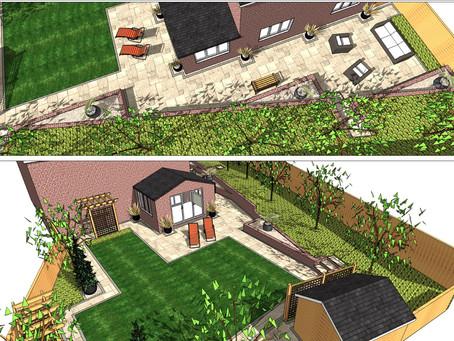 Garden design, Kippax,Leeds