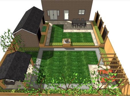 Garden design Pontefract