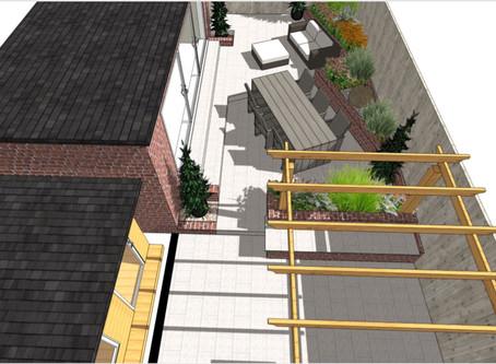 Garden design in Wakefield