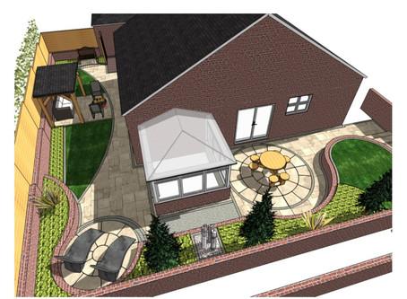 Garden design, Castleford